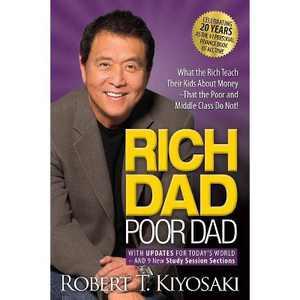 Rich Dad Poor Dad - 2 Edition by Robert T Kiyosaki (Paperback)