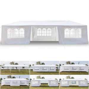 Zimtown 10' x 30' Canopy Party Tent Practical Outdoor Tent for Parties-7