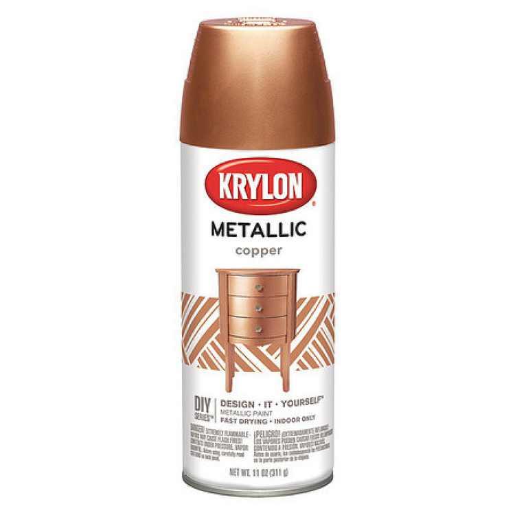 KRYLON K01709A77 Metallic Spray Paint, Copper Metallic, Metallic, 11 oz.