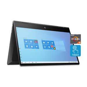"HP Envy 15.6"" Full HD X360, AMD Ryzen 5 4500U, AMD Radeon Graphics, 8GB SDRAM, 256GB SSD, Nightfall Black, Windows 10, 15-ds1010wm"