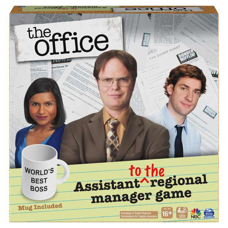 The Office TV Show, Assistant to the Regional Manager Party Game, for Adults and Teens Ages 16 and up