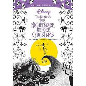 Tim Burton's the Nightmare Before Christmas : 100 Images to Inspire Creativity - by Disney (Paperback)
