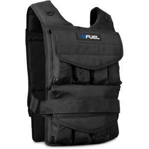 Fuel Pureformance Adjustable Weighted Fitness Vest, 40 lb