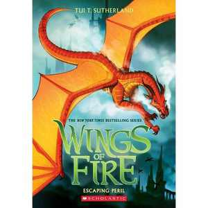 Escaping Peril (Wings of Fire, Book 8), Volume 8 - by Tui T Sutherland (Paperback)