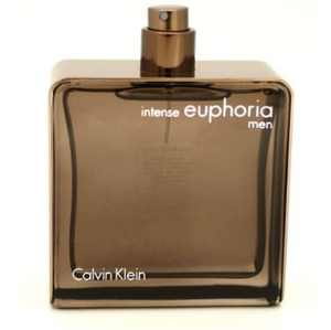 Calvin Klein Beauty Euphoria for Men Intense Eau de Toilette, Cologne for Men, 3.4 Oz