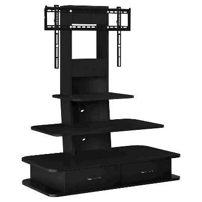 """Solar TV Stand with Mount and Drawers for TVs up to 70"""" Wide - Room & Joy"""