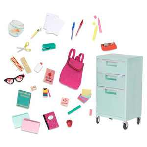 "Our Generation School Supplies Accessory for 18"" Dolls - Elementary Class Playset"