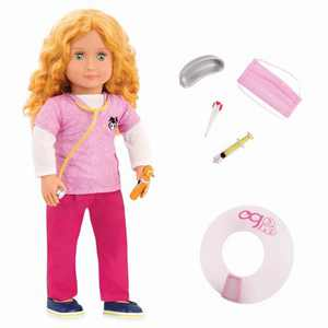"Our Generation 18"" Pet Care Vet Doll with Accessories - Anais"