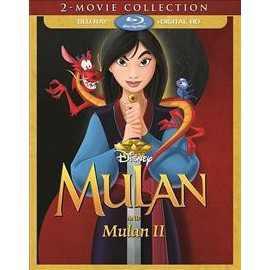 Mulan 2 Movie Collection (Blu-ray + Digital)