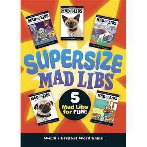 Supersize Mad Libs (Paperback) (Roger Price)