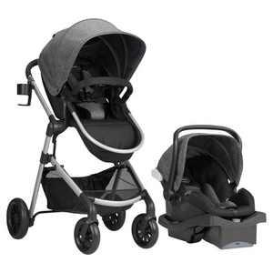 Evenflo Pivot Modular Travel System with ProSeries LiteMax Infant Car Seat - Aspen Skies