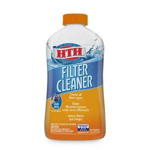 hth Pool Filter Cleaner, 32 fl oz