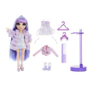 Rainbow High Violet Willow  Purple Fashion Doll with 2 Outfits