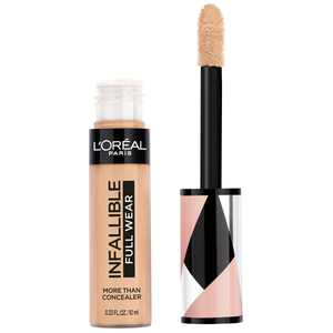 L'Oreal Paris Infallible Full Wear Concealer Waterproof, Full Coverage, Pecan, 0.33 fl. oz.