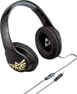 eKids Zelda Co Branded Headphones - black