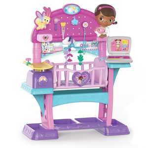 Doc McStuffins Baby All-in-One Nursery, Bulk, Ages 3 Up, by Just Play