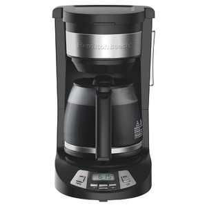 Hamilton Beach 12 Cup Programmable Coffee Maker - Black 46290