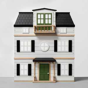 Wooden Dollhouse with Furniture - Hearth & Hand™ with Magnolia