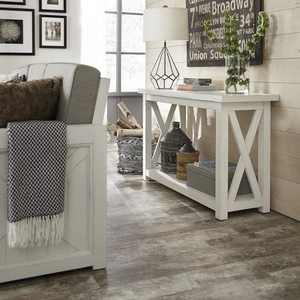 Seaside Lodge Console Table - Off White - Home Styles
