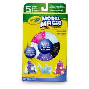 Model Magic Modeling Clay 5ct Shimmer - Crayola