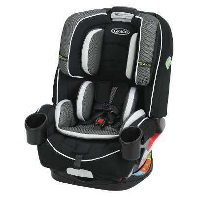 Graco 4Ever 4-in-1 Convertible Car Seat Featuring Safety Surround - Jacks