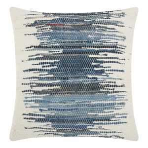 Blue Stripe Throw Pillow - Mina Victory