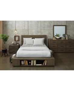 Brandon Storage Platform Bedroom 3-Pc. Set (Queen Bed, Dresser & Nightstand), Created for Macy's