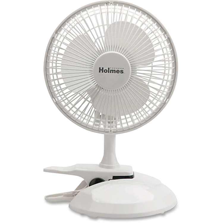 Holmes, HLSHCF0611AWM, HCF0611A-WM Desk Fan, 1 Each, White