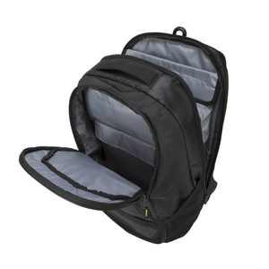 """Targus 15.6"""" Work + Play Fitness Backpack, Black"""