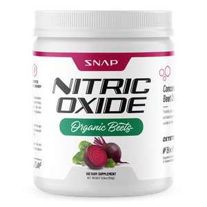 Snap Supplements Organic Nitric Oxide Beets Root Powder - Supports Lower Blood Pressure, Superfood 250g
