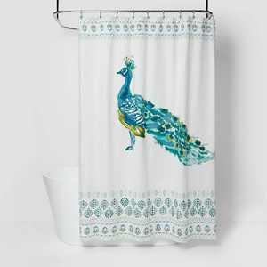 Peacock Print Shower Curtain - Opalhouse™