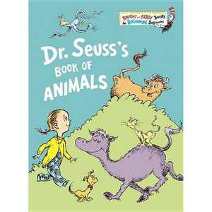 DR. SEUSS'S BOOK OF ANIMALS - by Dr Seuss (Hardcover)