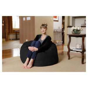 3' Kids' Bean Bag Chair with Memory Foam Filling and Washable Cover - Relax Sacks
