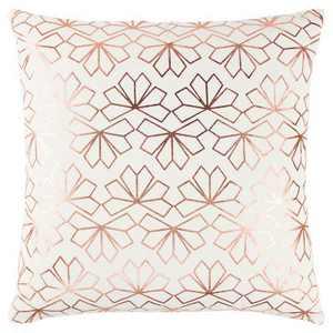 "20""x20"" Geometric Interlocking Crystal Throw Pillow - Rizzy Home"