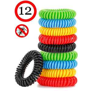 Mosquito Repellent Bracelet, Anti-Mosquito Bracelet, Anti-Mosquito Repellent Bracelets with Natural Material for Children and Adults