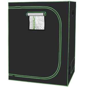 """48 x 24 x 60"""" Mylar Water-Resister Grow Tent with Observation Window Indoor Plant Growing Green House"""