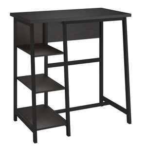 Archer Standing Desk Espresso - Room & Joy