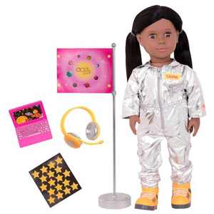 "Our Generation 18"" Astronaut Doll with Accessories - Laura"
