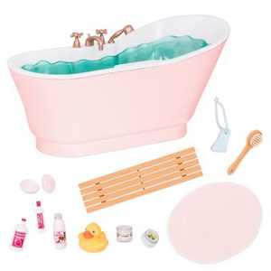 "Our Generation Bath & Bubbles Bathtub Accessory Set for 18"" Dolls"