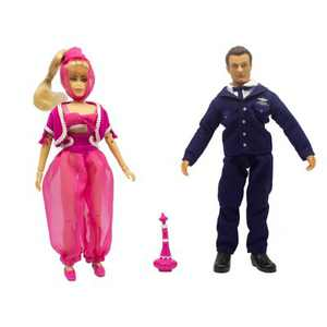 Mego I Dream of Jeannie Action Figure - Jeannie & Tony