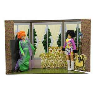 Mego Bewitched Endora & Serena Action Figure