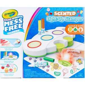 Crayola 26pc Color Wonder Scented Light-Up Stamper Activity Kit