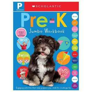 Jumbo Pre-K Workbook -  by Scholastic Inc. & Scholastic Early Learners (Paperback)