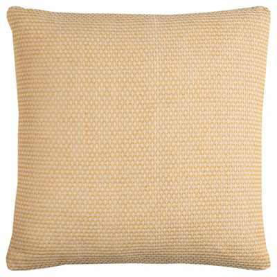 Solid Throw Pillow Yellow - Rizzy Home