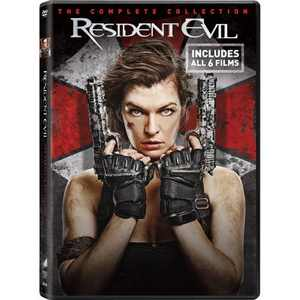 Resident Evil Six Film Collection (DVD)