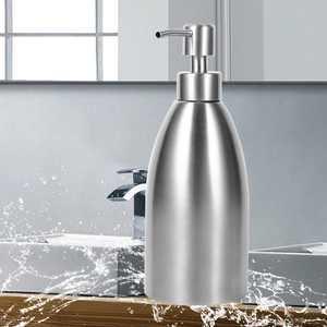 Yosoo 500ml Stainless Steel Soap Dispenser Kitchen Sink Faucet Bathroom Shampoo Box Soap Container, Soap Container, Soap Liquid Dispenser