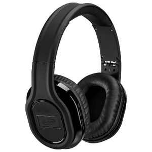 iLive Audio Bluetooth Noise Cancelling Headphones with Audio Line In - Black (IAHP87B)