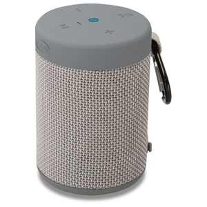 iLive Audio Waterproof, Shockproof Bluetooth Speaker with Speakerphone - Gray (ISBW108LG)