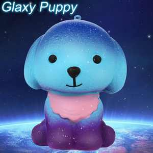 Adorable Squishies Galaxy Puppy Slow Rising Fruit Scented Stress Relief Toy Gift
