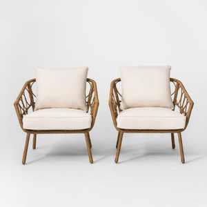 Britanna 2pk Patio Club Chair Natural - Opalhouse™